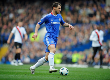LONDON, ENGLAND - MARCH 20:  Branislav Ivanovic of Chelsea in action during the Barclays Premier League match between Chelsea and Manchester City at Stamford Bridge on March 20, 2011 in London, England.  (Photo by Michael Regan/Getty Images)