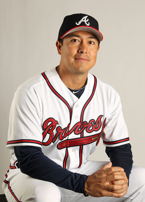 The Braves signed Rodrigo Lopez to a minor league contract in January.