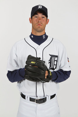 LAKELAND, FL - FEBRUARY 21:  Rick Porcello #48 of the Detroit Tigers poses for a portrait during Photo Day on February 21, 2011  at Joker Marchant Stadium in Lakeland, Florida.  (Photo by Nick Laham/Getty Images)