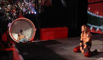 Resultado de imagem para cena vs edge backlash 2009