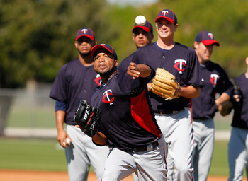 FORT MYERS, FL - FEBRUARY 23:  Pitcher Francisco Liriano #47 of the Minnesota Twins throws during a spring training workout session at Hammond Stadium on February 23, 2011 in Fort Myers, Florida.  (Photo by J. Meric/Getty Images)