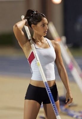 we only really pay attention to track and field every four years ...