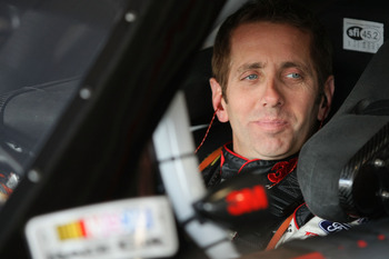 FONTANA, CA - MARCH 25:  Greg Biffle, driver of the #16 3M Ford, sits in his car during practice for the NASCAR Sprint Cup Series Auto Club 400 at Auto Club Speedway on March 25, 2011 in Fontana, California.  (Photo by Victor Decolongon/Getty Images for N