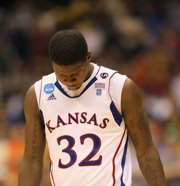Tthe Kansas Jayhawks may have been the last championship worthy team left on the bracket.
