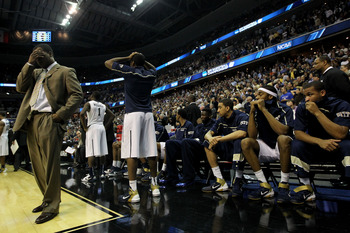 This photo pretty much sums up how the Big East feels after falling to six different conferences.