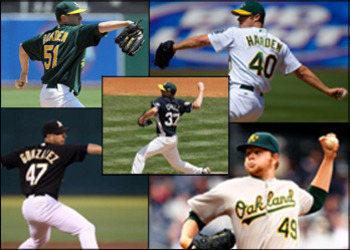 Oakland Athletics Rotation