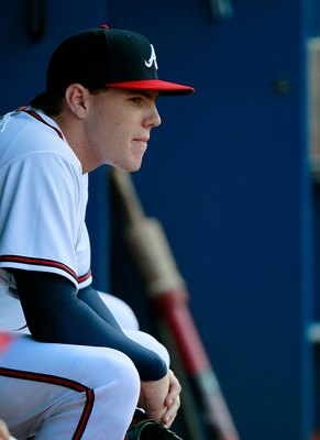 Freddie Freeman is one of the leading candidates for the NL Rookie of the Year Award