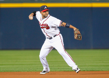Gonzalez should anchor the Braves infield defense in 2011