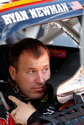BRISTOL, TN - MARCH 19: Ryan Newman, driver of the #39 Tornados Chevrolet, sits in his car prior to practice for the NASCAR Sprint Cup Series Jeff Byrd 500 Presented By Food City at Bristol Motor Speedway on March 19, 2011 in Bristol, Tennessee.  (Photo b
