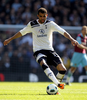 LONDON, ENGLAND - MARCH 19:  Sandro of Tottenham in action during the Barclays Premier League match between Tottenham Hotspur and West Ham United at White Hart Lane on March 19, 2011 in London, England.  (Photo by Ian Walton/Getty Images)