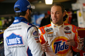 JImmie Johnson and Kevin Harvick will be around each other a lot this season.