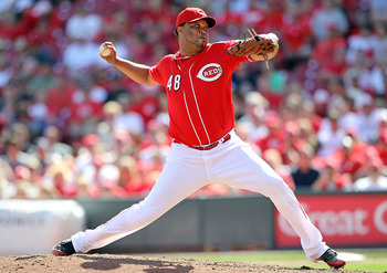 With Ardolis Chapman throwing in the triple digits, the need for Francisco Cordero may be waning in Cincy.
