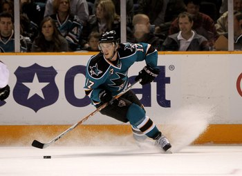 SAN JOSE, CA - MARCH 28:  Torrey Mitchell #17 of the San Jose Sharks in action during their game against the Colorado Avalanche at HP Pavilion on March 28, 2010 in San Jose, California.  (Photo by Ezra Shaw/Getty Images)