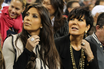 NEW YORK - SEPTEMBER 09:  Kim Kardashian (L) and Kris Jenner watch the Fernando Verdasco v Rafael Nadal match during day eleven of the 2010 U.S. Open at the USTA Billie Jean King National Tennis Center on September 9, 2010 in the Flushing neighborhood of