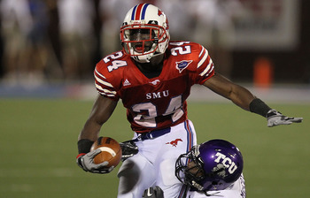The last deep threat to come out of SMU: Emmanuel Sanders.