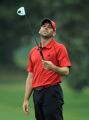 ORLANDO, FL - MARCH 23:  Sergio Garcia of Spain during the pro-am as a preview for the 2011 Arnold Palmer Invitational presented by Mastercard at the Bay Hill Lodge and Country Club on March 23, 2011 in Orlando, Florida.  (Photo by David Cannon/Getty Imag