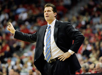 Steve Alford signed a 10-year contract extension with New Mexico earlier this year.