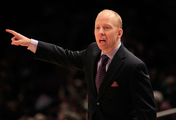 Mick Cronin previously coached under Bob Huggins and Rick Pitino.
