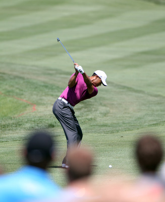ORLANDO, FL - MARCH 26:  Tiger Woods plays a shot on the 3rd hole during the third round of the Arnold Palmer Invitational presented by MasterCard at the Bay Hill Club and Lodge on March 26, 2011 in Orlando, Florida.  (Photo by Sam Greenwood/Getty Images)