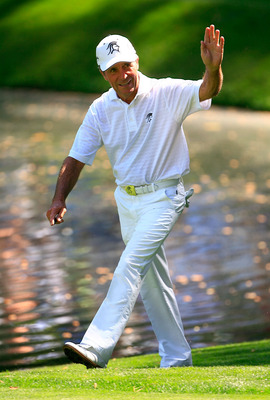 Gary Player in the 2007 Masters