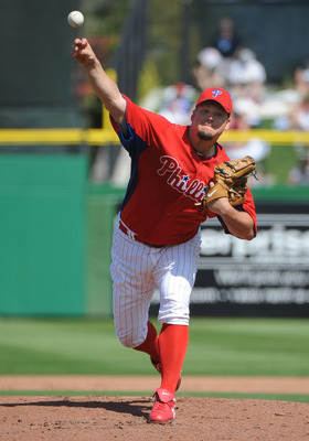 Joe Blanton is the Phillies' number five starter entering 2011.