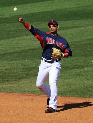 Orlando Cabrera is a veteran presence on a young Tribe team.