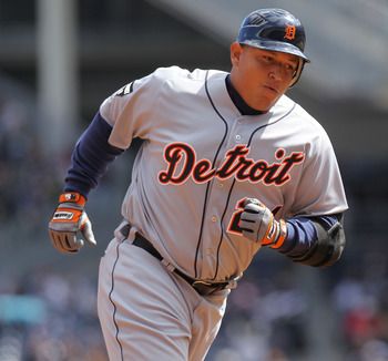 Miguel Cabrera holds a .314 career batting average