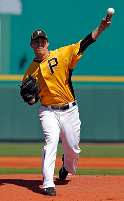 BRADENTON, FL - FEBRUARY 28:  Pitcher Paul Maholm #28 of the Pittsburgh Pirates pitches against the Baltimore Orioles during a Grapefruit League Spring Training Game at McKechnie Field on February 28, 2011 in Bradenton, Florida.  (Photo by J. Meric/Getty