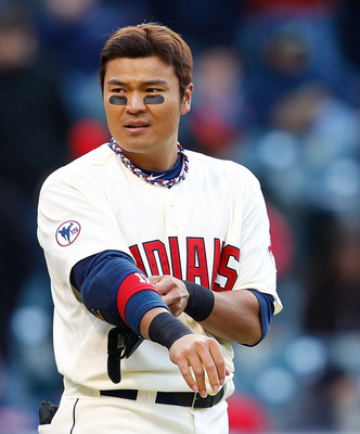 The Korea native Shin-Soo Choo rounds out the AL Central outfield.