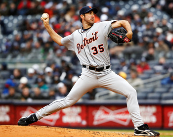 Verlander anchors the rotation for the AL Central squad.