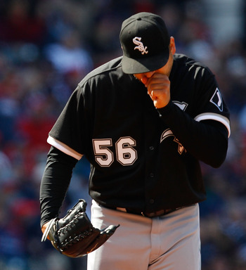 White Sox pitcher Mark Buehrle earns the #2 spot in the Al Central rotation.