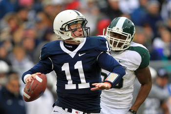 Matt McGloin ended on a sour note in 2010.
