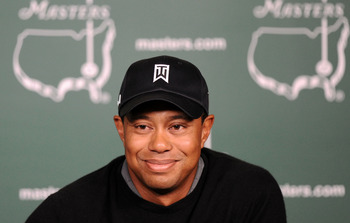Anguish or Anticipation? The 2011 Masters is uncharted territory for Tiger Woods.