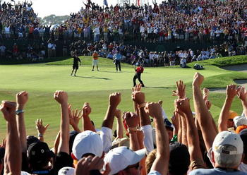 Tiger's magical 2008 moment, nearly three years ago. When most assumed Tiger would already have his 5th green jacket come 2011.