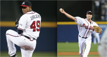 Starting Pitchers Jair Jurrjens and Derek Lowe
