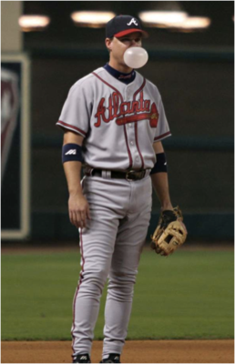 3rd Baseman Chipper Jones