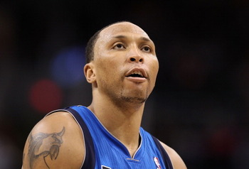 PHOENIX, AZ - MARCH 27:  Shawn Marion #0 of the Dallas Mavericks shoots a free throw shot against the Phoenix Suns during the NBA game at US Airways Center on March 27, 2011 in Phoenix, Arizona.  The Mavericks defeated the Suns 91-83. NOTE TO USER: User e