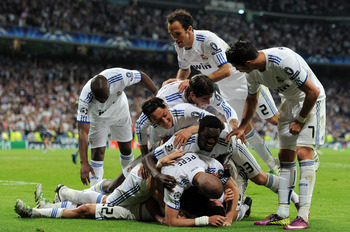 Stacks On: Real Madrid took a huge step towards the Champions League Semi-Finals with a 4-0 win over Tottenham at the Santiago Bernabéu