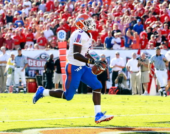Chris Rainey is one of UF's fastest and most versatile offensive players.