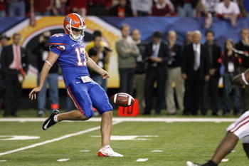 With All American punter Chas Henry readying himself for the NFL, the Gators need a new punter.