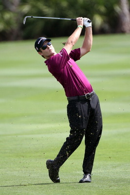 PALM BEACH GARDENS, FL - MARCH 05:  Kevin Streelman plays a shot during the third round of The Honda Classic at PGA National Resort and Spa on March 5, 2011 in Palm Beach Gardens, Florida.  (Photo by Sam Greenwood/Getty Images)