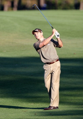 PALM HARBOR, FL - MARCH 17:  Mark Wilson hits a shot on the 14th hole during the first round of the Transitions Championship at Innisbrook Resort and Golf Club on March 17, 2011 in Palm Harbor, Florida.  (Photo by Sam Greenwood/Getty Images)