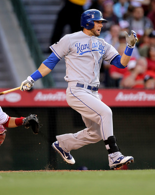 Alex Gordon finding his stride in KC just before he's phased out for a young super-prospect.