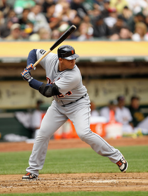 Now that he's surrounded by some hitters, Miguel Cabrera doesn't have to do all the heavy lifting alone.