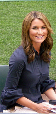 Nicole Zaloumis Pictures http://bleacherreport.com/articles/657537-erin-andrews-and-the-15-sexiest-mlb-reporters