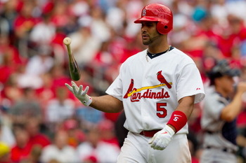 Albert Pujols will hit the free agent market for the first time in his illustrious career after the 2011 season.