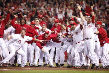 The Reds tasted postseason play in 2010.