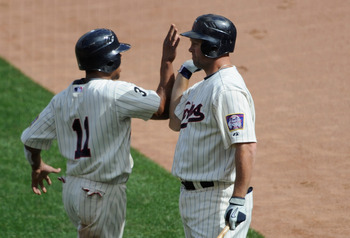 There have been so few high-fives in Minnesota this year, they don't even know how to do it properly.