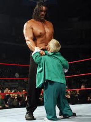 Wrestlemania XXVIII Preview: Rock vs Cena Set, Will Triple ... The Great Khali Vs Hornswoggle