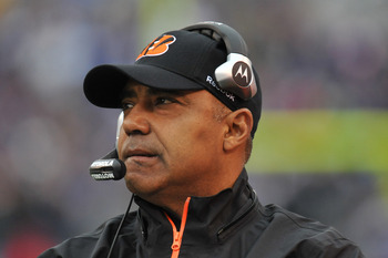 Marvin Lewis and the Bengals have their work cut out for them in 2011.
